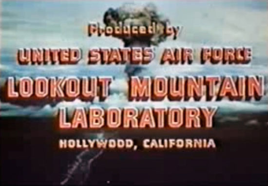 Produced by Lookout Mountain Laboratory film credit